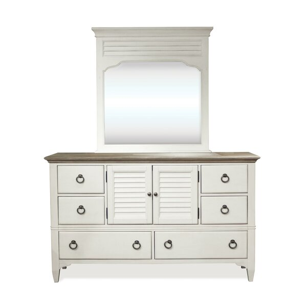 Cardiff Benoit 8 Drawer Combo Dresser by Rosecliff Heights