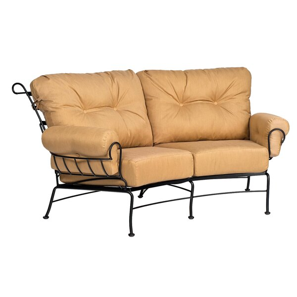 Terrace Crescent Loveseat by Woodard Woodard
