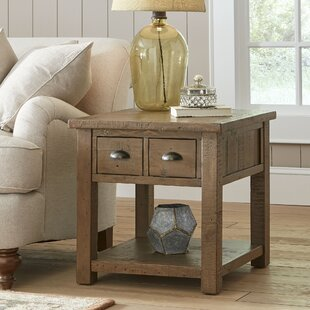 Compare prices Seneca End Table with Storage By Birch Lane™