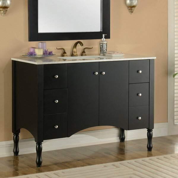 Heyward 48 Contemporary Single Bathroom Vanity Set by Alcott Hill