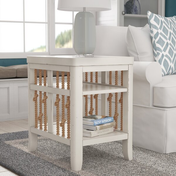 Chaz Chairside Table By Beachcrest Home