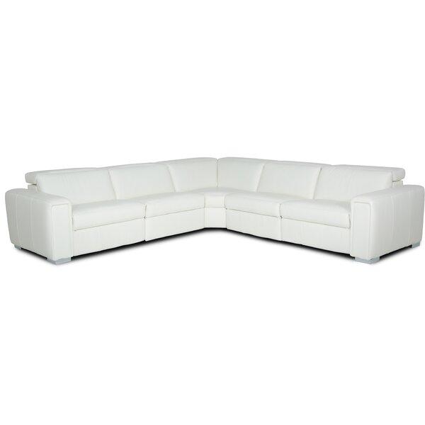 Lorenzo 5 Piece Symmetrical Reclining Sectional Set By Palliser Furniture