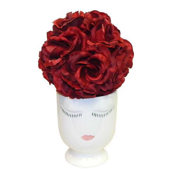 Lady Peonies Centerpiece by House of Hampton