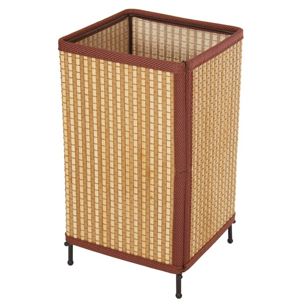 Tatsu Japanese Rattan Lantern 11.75 Table Lamp by Oriental Furniture