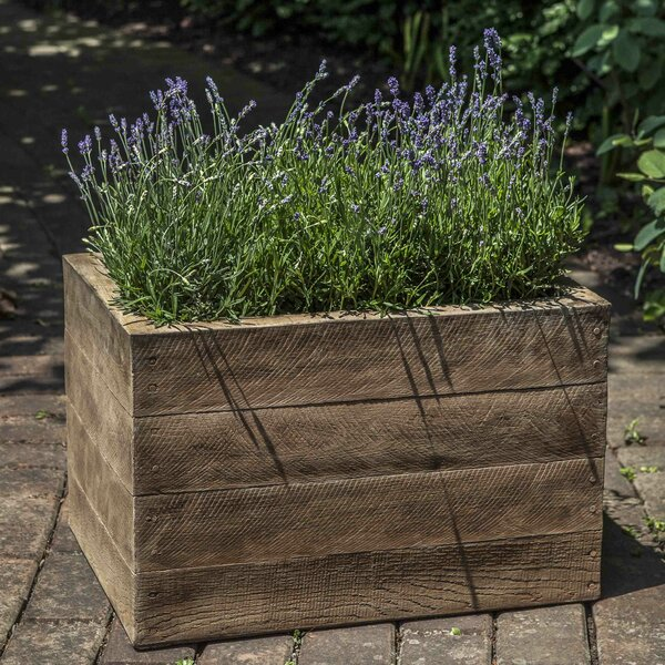 Brewington Cast Stone Planter Box by Foundry Select