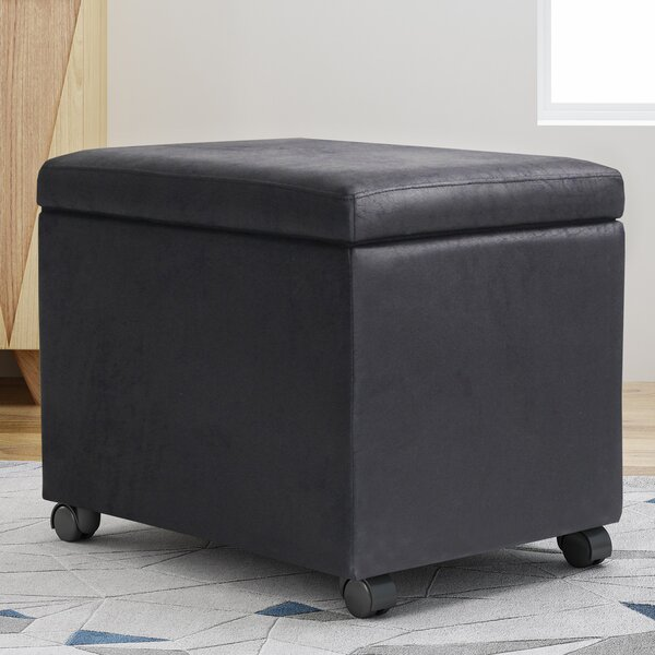 Pehrson Storage Ottoman by Ebern Designs