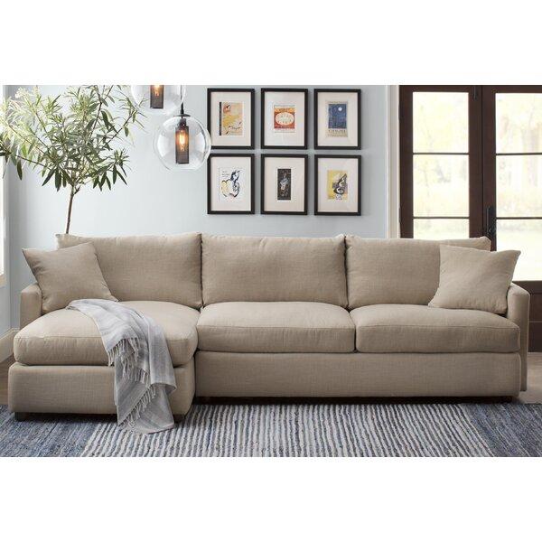 Asher Sectional by AllModern Custom Upholstery