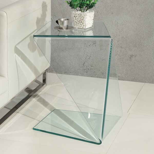 Terrie End Table by Orren Ellis