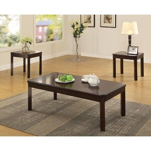 Rene 3 Piece Coffee Table Set