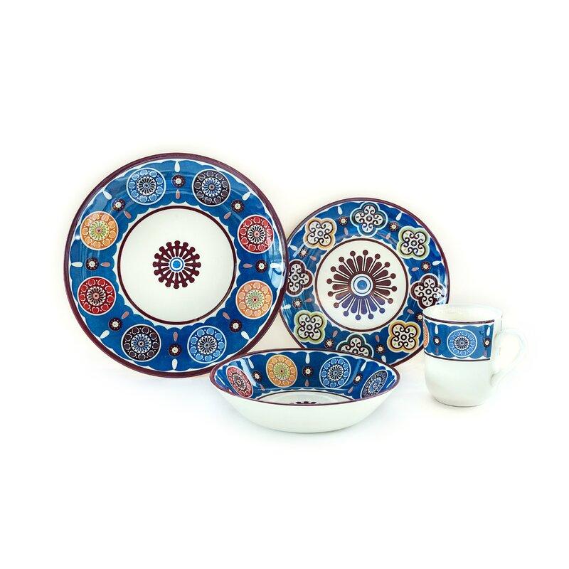 Royal Oriental 24 Piece Dinnerware Set