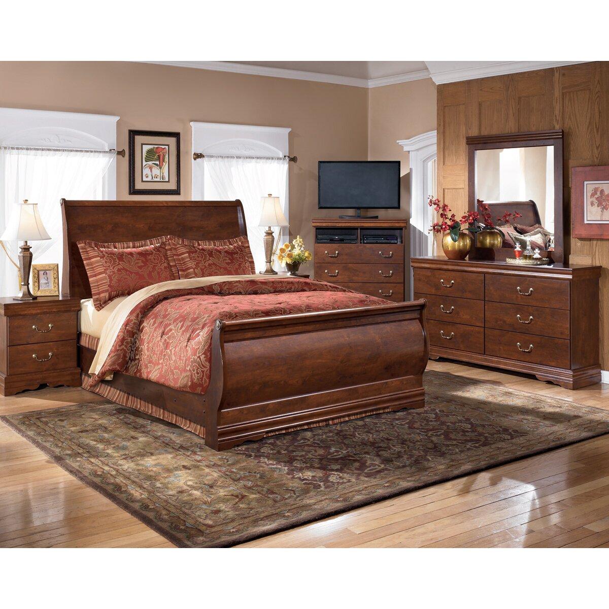 Wildon Home Wilmington Sleigh Bed Reviews Wayfair