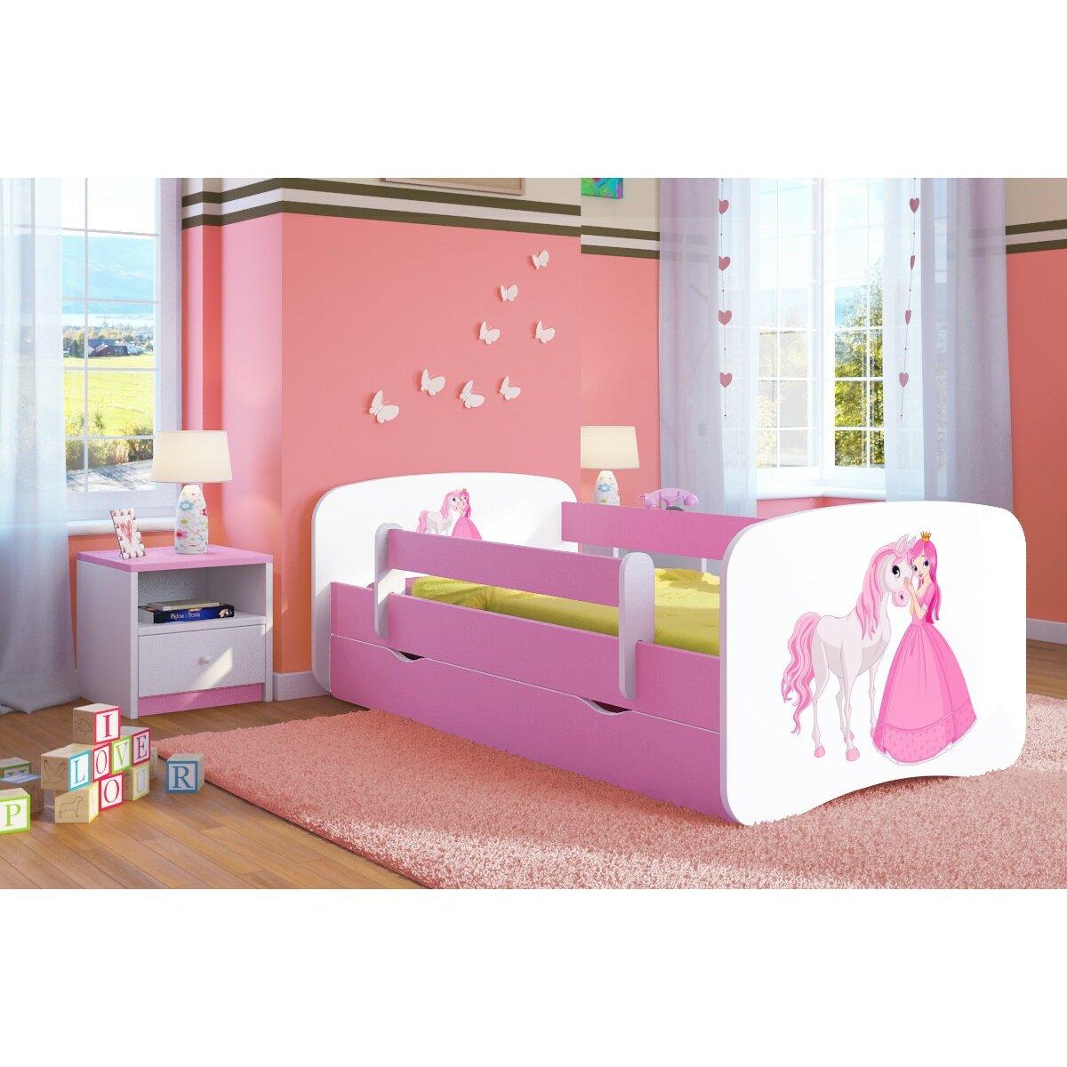 kocot kids anpassbares schlafzimmer set pinke princess. Black Bedroom Furniture Sets. Home Design Ideas