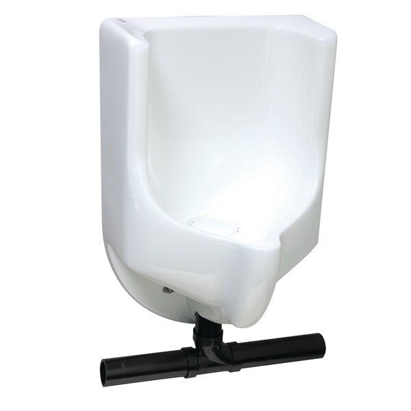 Sonora Bottom Drain Urinal by Waterless