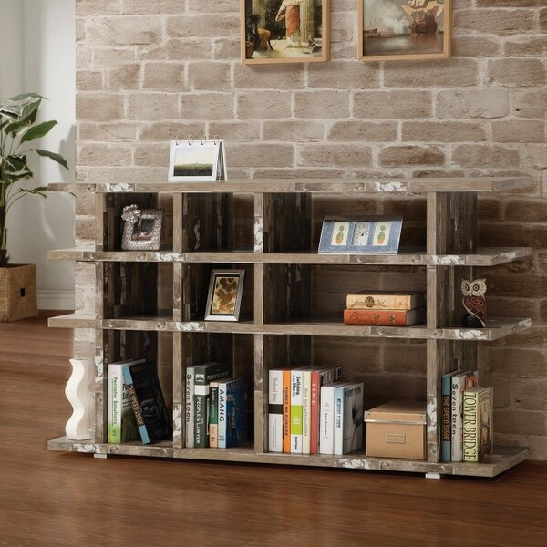 Paschal Wooden Cube Unit Bookcase by Union Rustic