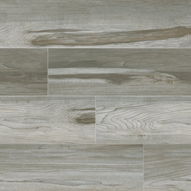 Msi Carolina 6 X 24 Ceramic Wood Lookfield Tile In Gray Wayfair