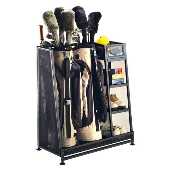 Golf Organizer Freestanding Sports Rack by Suncast