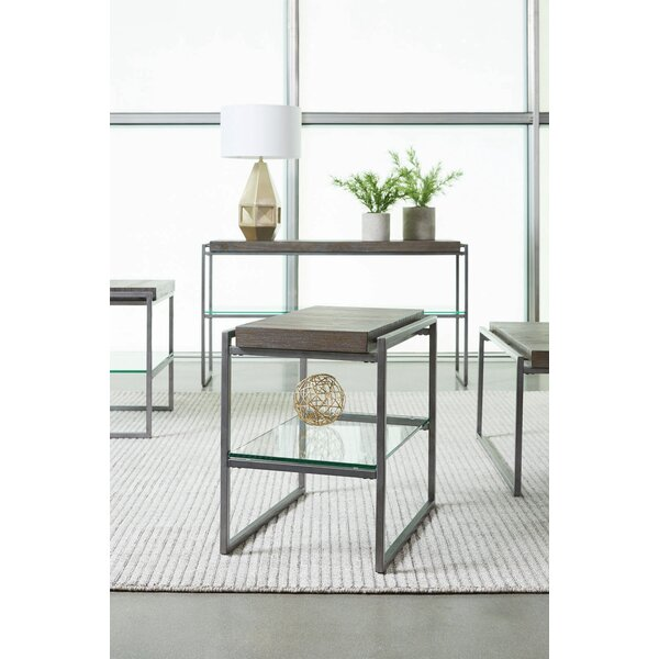Liverman Rectangle Coffee Table by 17 Stories