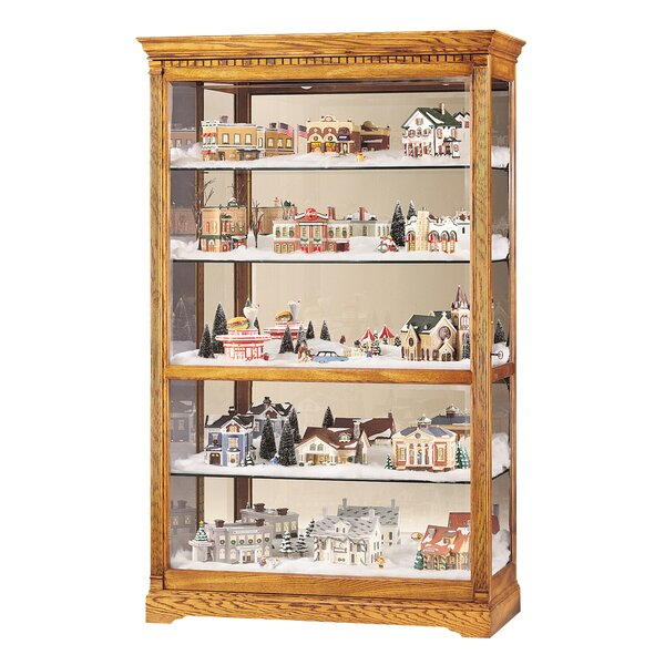 Bridgers Curio Cabinet by Darby Home Co