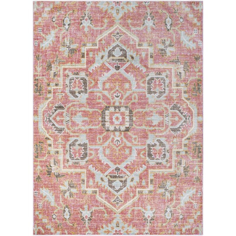 Mistana Fields Pink Area Rug & Reviews   Wayfair