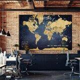 Push Pin Wall Maps | Wayfair Sale Push Pin World Map on plastic world map, modeling clay world map, cork board world map, penguin world map, paper world map, bulletin board with world map, key world map, clip world map, framed world map, staples world map, pen world map,
