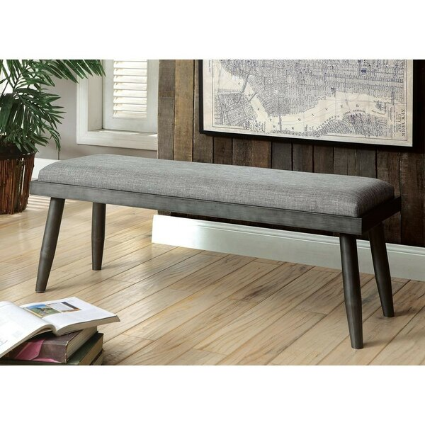 Kipp Wood Bench by Wrought Studio