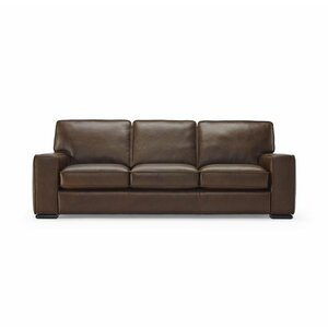 Vincenzo Leather Sofa by Natuzzi Editions