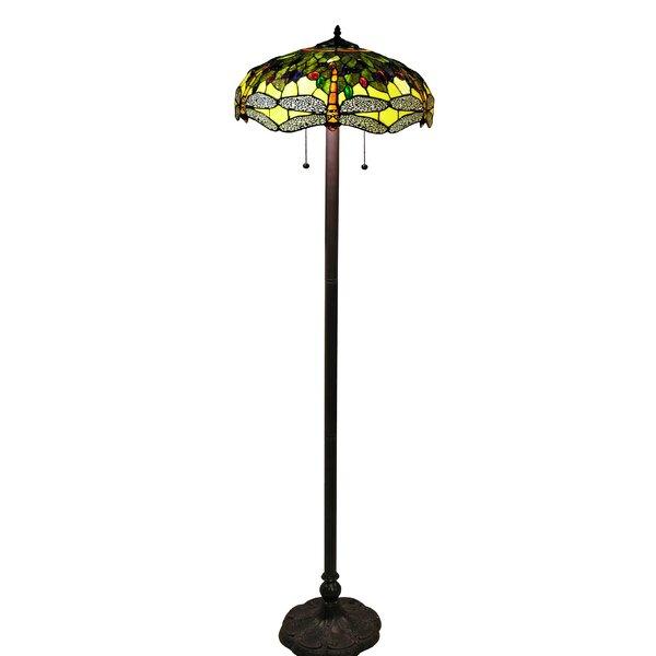 Shannon 18 Floor Lamp by Rosdorf Park