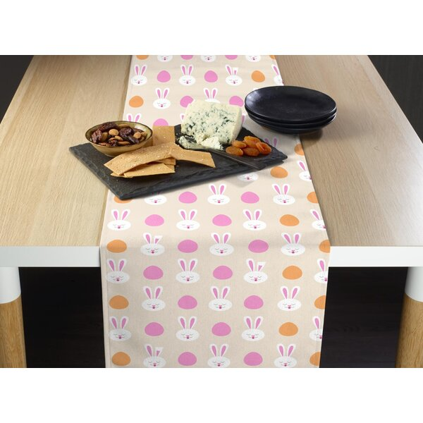 Entwistle Easter Bunny Milliken Signature Table Runner by The Holiday Aisle