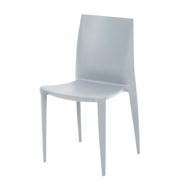 Bellini Stacking Patio Dining Chair (Set of 4) by Heller Heller