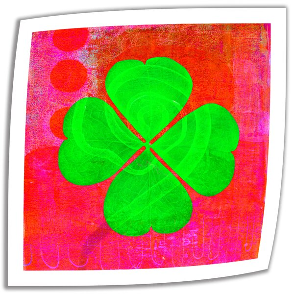 Shamrock by Elena Ray Vintage Advertisement on Rolled Canvas by ArtWall