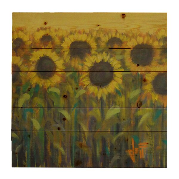 Sun Up by Jeff Boutin Painting Print on Plaque by Hadley House Co