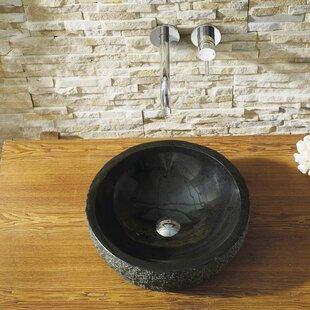 Shopping for Adonia Stone Circular Vessel Bathroom Sink ByVirtu USA