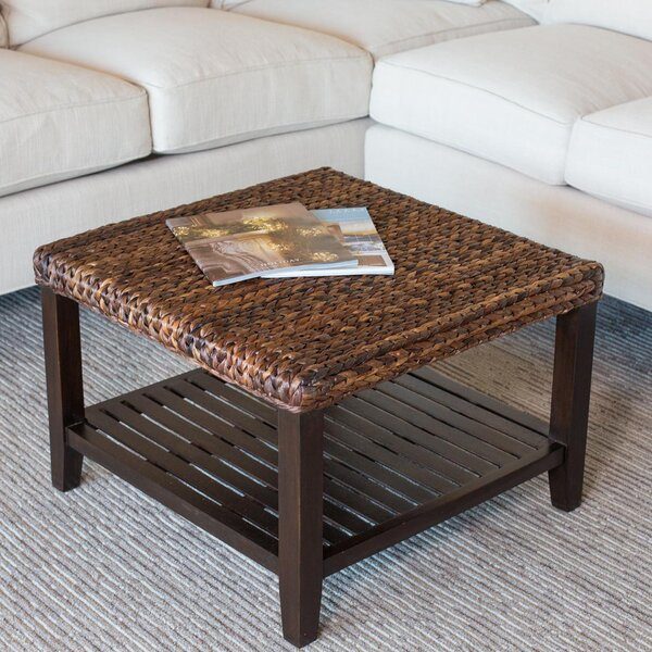 Cayla Coffee Table with Tray Top by Bay Isle Home