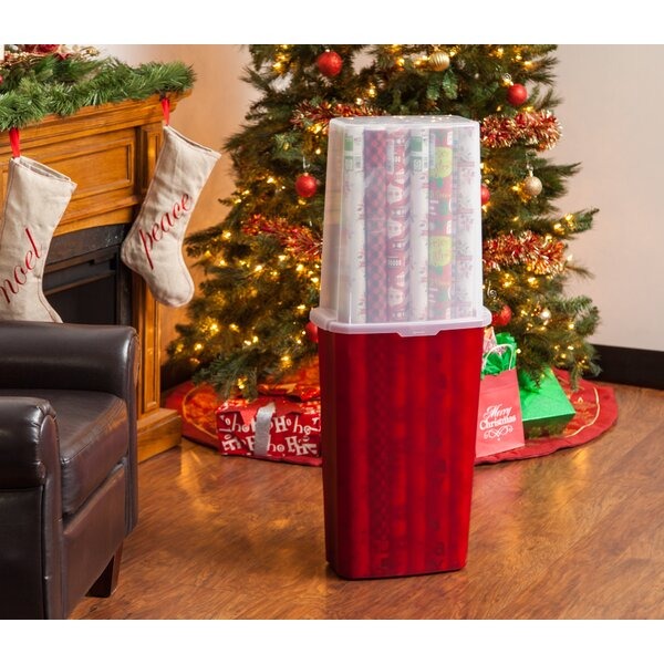 Paper Box Gift Wrap Storage (Set of 2) by IRIS USA, Inc.