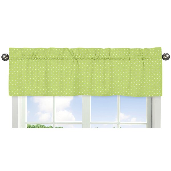 Hooty Polka Dot 54 Window Valance by Sweet Jojo Designs