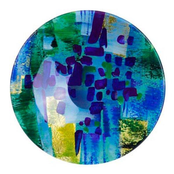 Round Platter by Jasmine Art Glass