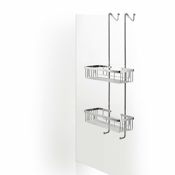 Snowhill Bathroom Over the Door Shower Caddy by Orren Ellis