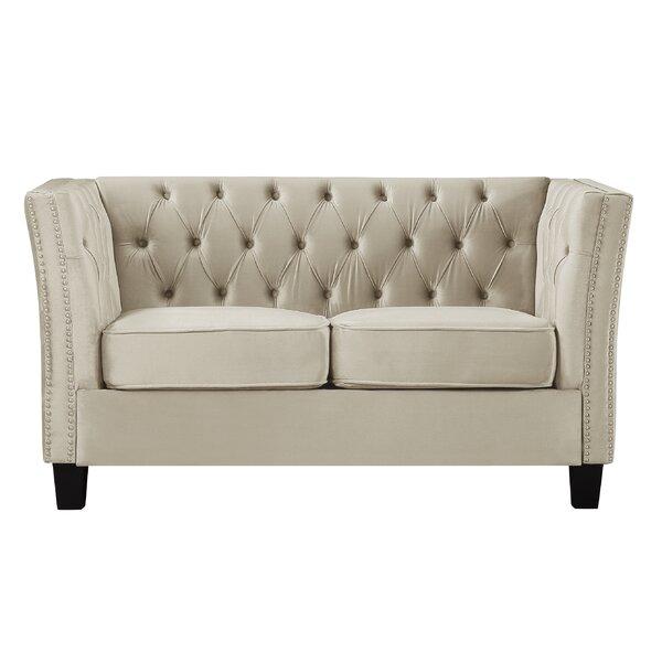 Bixby 57.09-inch Tuxedo Arms Sofa by Mercer41 Mercer41