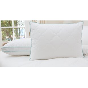 2 Pack Scallop Cloud Quilted Gusset Down Alternative Pillows (Set of 2) ByAlwyn Home