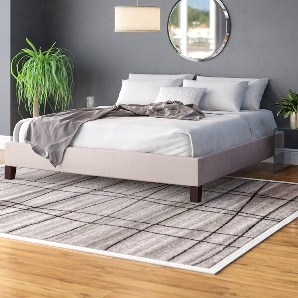 Czarnecki King Upholstered Platform Bed by Ivy Bronx