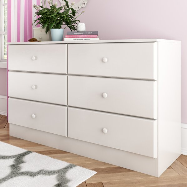 Doyle 6 Drawer Double Dresser by Trule Teen