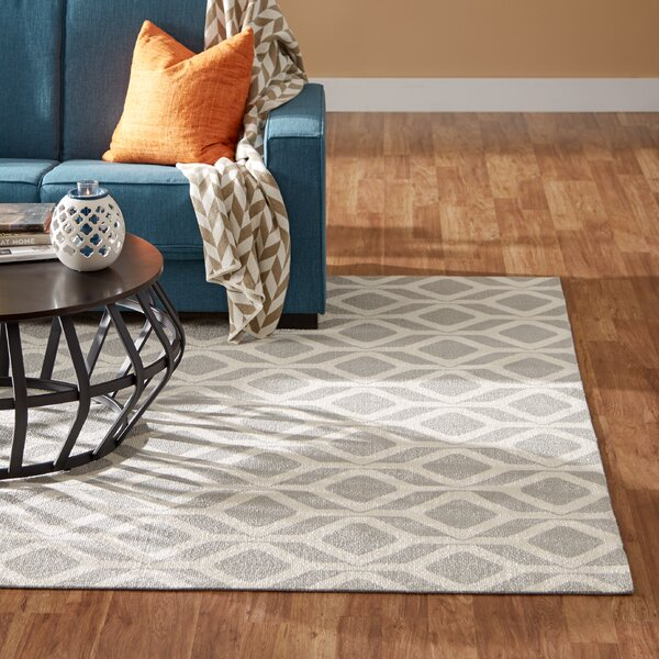 Psyche Gray Area Rug by Mercury Row