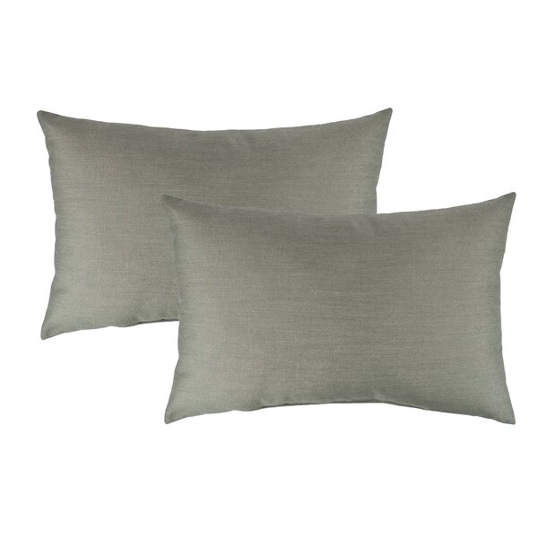 Spectrum Outdoor Sunbrella Lumbar Pillow (Set of 2) by Austin Horn Classics