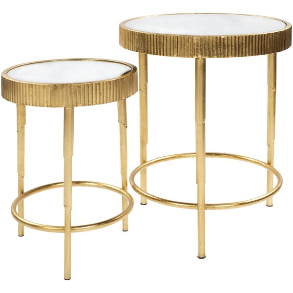 Weisgerber 2 Piece Nesting Tables by Bungalow Rose