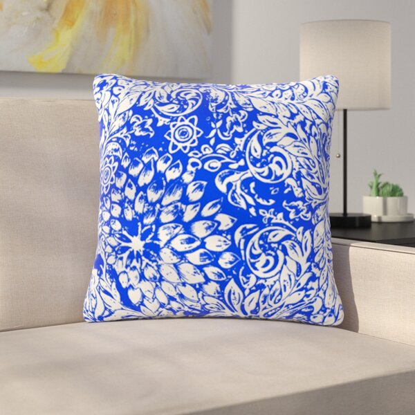 Bloom for You by Vikki Salmela Outdoor Throw Pillow by East Urban Home