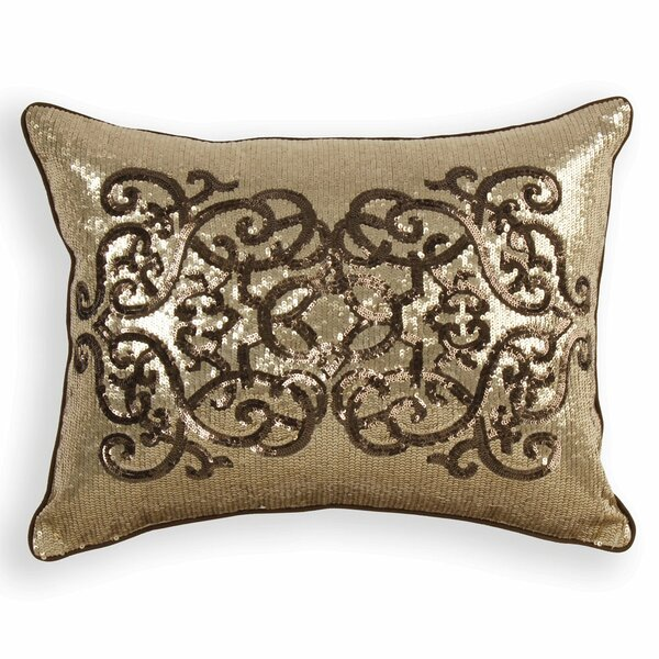 Rangeley Sequin Lumbar Pillow by House of Hampton