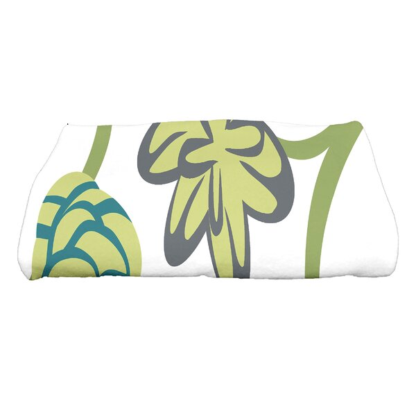 Tropical Floral Bath Towel by Red Barrel Studio