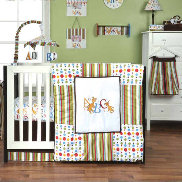 Dr. Seuss ABC 3 Piece Crib Bedding Set by Trend La