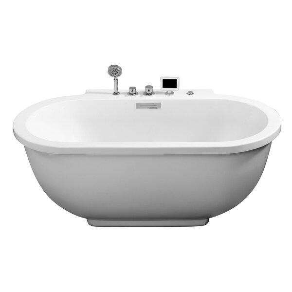71 x 37 Whirlpool Bathtub by Ariel Bath