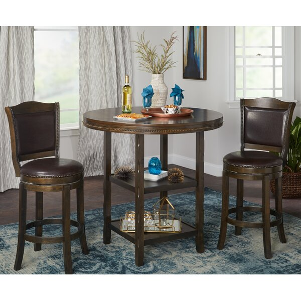 Romero 3 Piece Pub Table Set by Astoria Grand